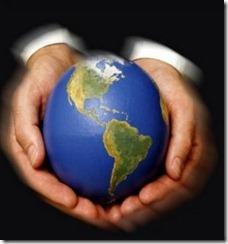 mundo nas mãos