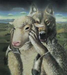 lobo oveja