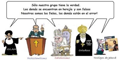 religiones exclusivismo